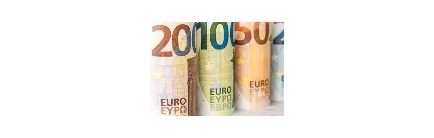 Nauji 100€ ir 200€ banknotai